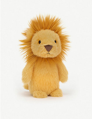 JELLYCAT: Fluffy lion soft toy 11cm