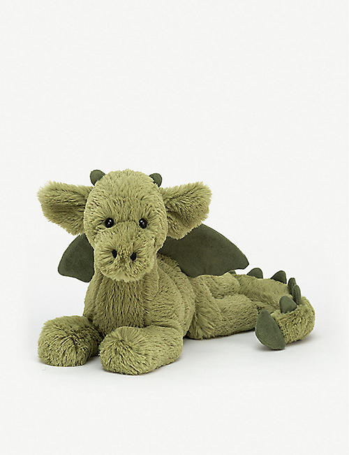 JELLYCAT Monty dragon soft toy 30cm