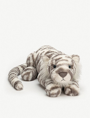 JELLYCAT Sacha snow tiger really big soft toy 74cm