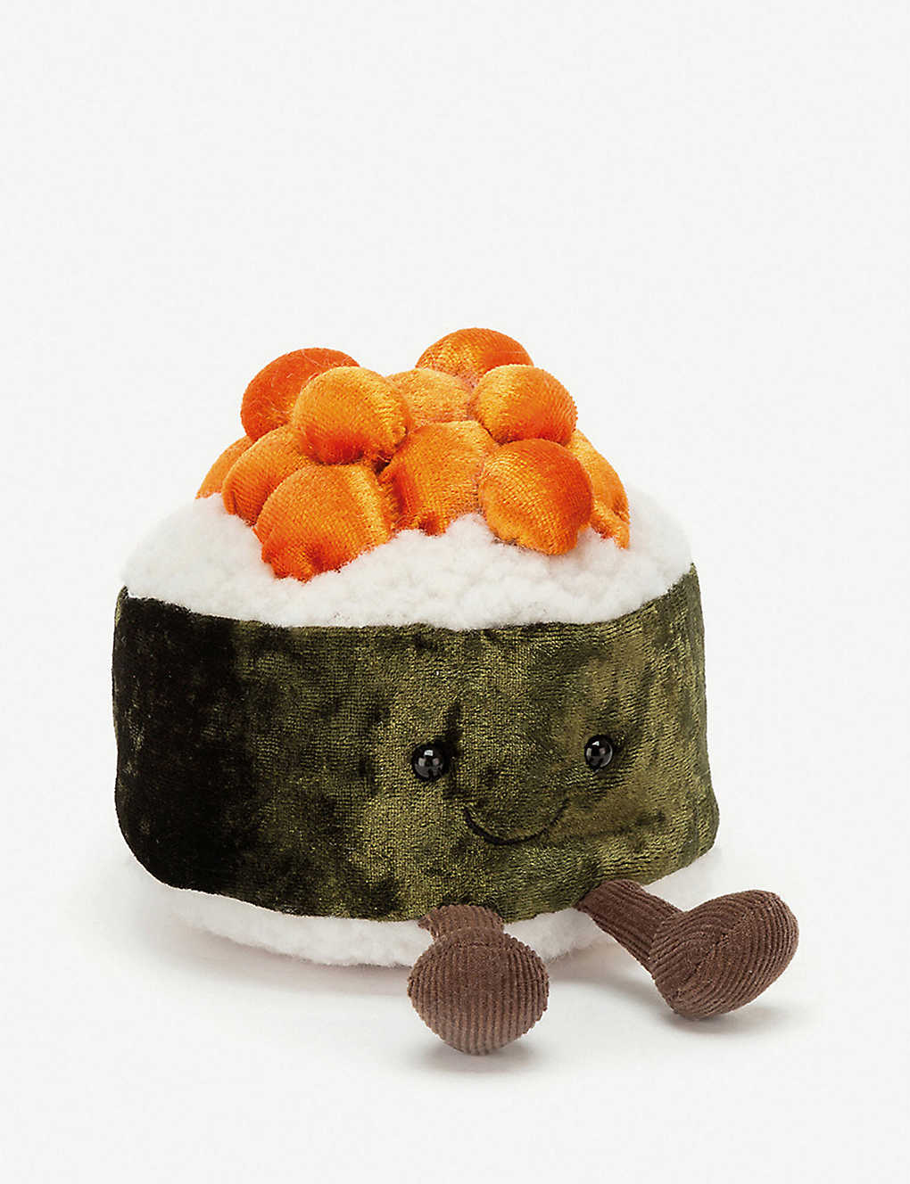 JELLYCAT: Amuseable Silly Sushi maki roll soft toy 10cm