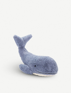 JELLYCAT Wilbur Whale soft toy 37cm