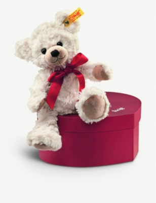STEIFF Sweetheart teddy bear in a box 22cm