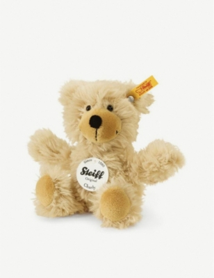 STEIFF Charly dangling teddy brown bear