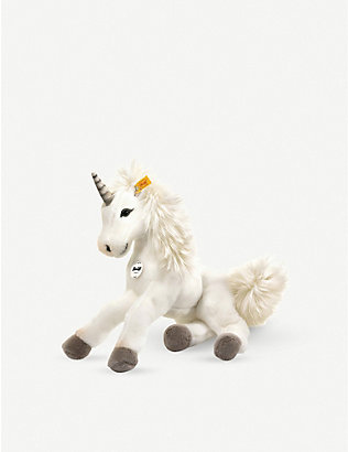 STEIFF: Starly Dangling Unicorn soft toy 35cm