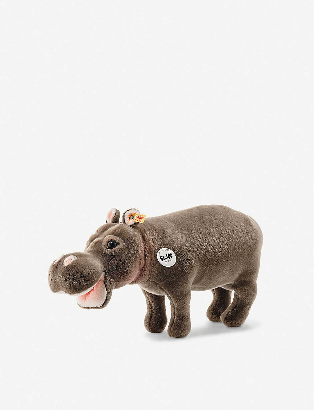 STEIFF: National Geographic Hedda Hippopotamus soft toy 43cm