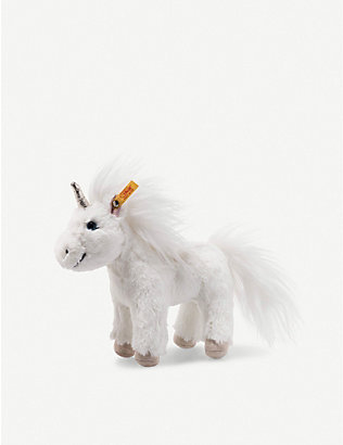 STEIFF: Soft Cuddly Friends Unica Unicorn standing soft toy 18cm