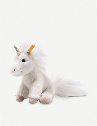 STEIFF: Floppy Unica unicorn plush soft toy 25cm