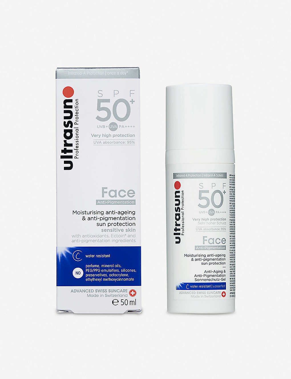 ULTRASUN: Face SPF50+ Anti-pigmentation 50ml