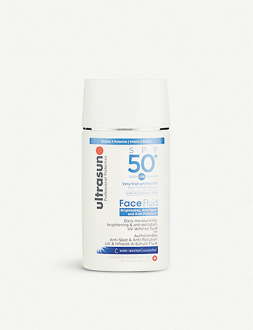 ULTRASUN: Daily Face Fluid SPF50+ Brightening and Anti-Pollution 40ml