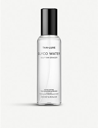 TAN-LUXE: Glyco Water Exfoliating Tan Remover, Cleanser & Primer 200ml