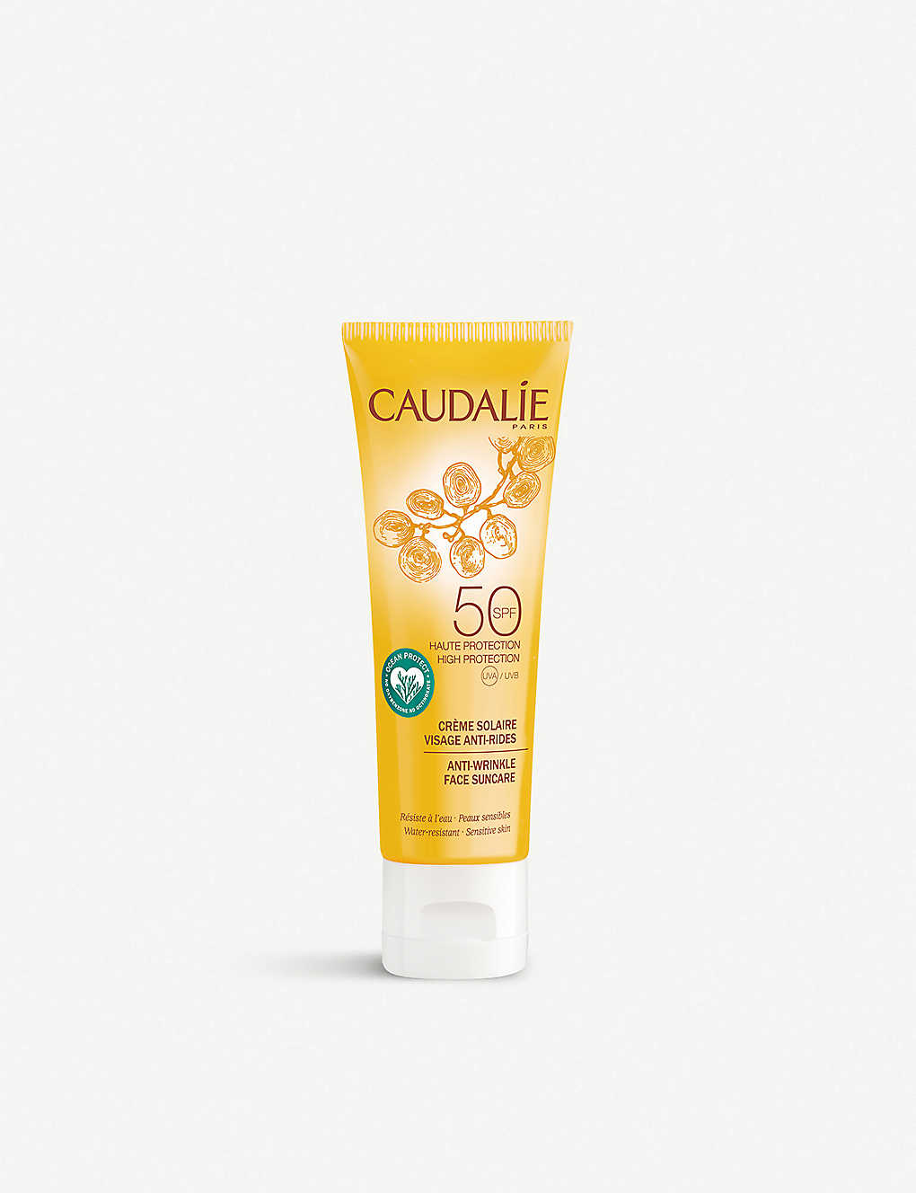 CAUDALIE: Anti-Wrinkle Face Suncare SPF50 50ml