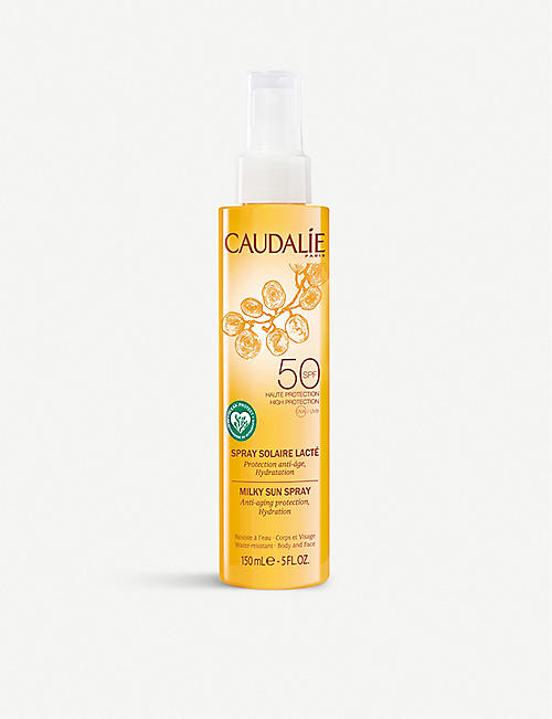 CAUDALIE: Milky Sun Spray SPF50 150ml