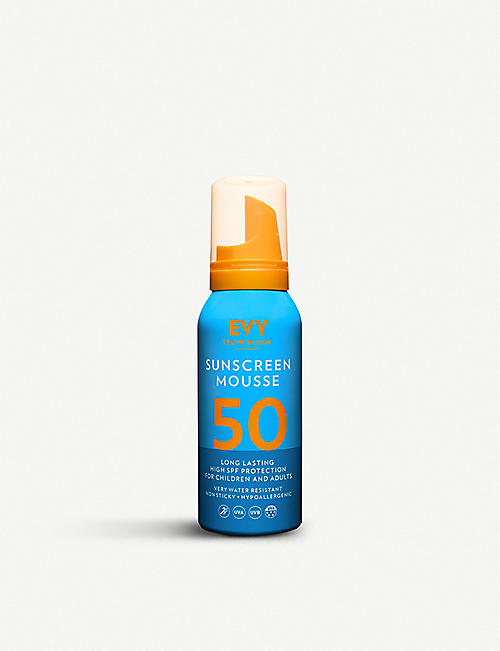 EVY TECHNOLOGY: Sunscreen Mousse SPF50 150ml