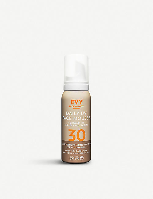 EVY TECHNOLOGY: Daily UV Face Mousse SPF30 75ml