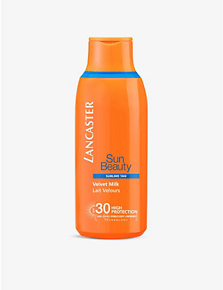 LANCASTER: Sun Beauty Velvet Milk SPF30 400ml