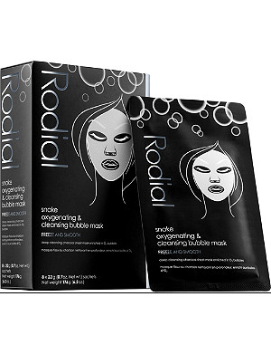 RODIAL Snake Oxygenating & Cleansing Bubble Masks pack of 8