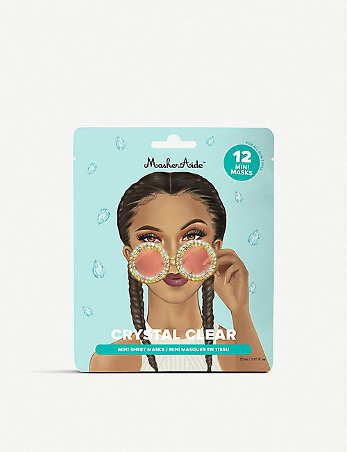 MASKERAIDE: Crystal Clear mini sheet masks 30ml