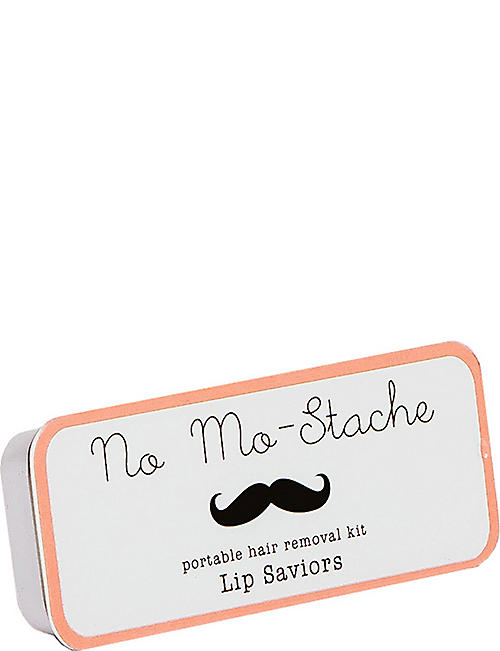 NO MO-STACHE Portable Hair Removal Kit
