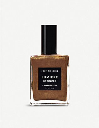 FRENCH GIRL: Lumière Bronzée shimmer oil 60ml