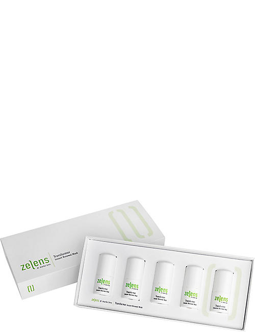 ZELENS Transformer Instant Renewal mask pack of five