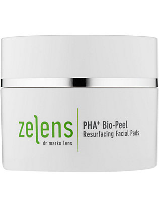 ZELENS: PHA+ Bio-Peel resurfacing facial pads