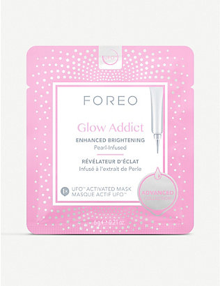FOREO: Glow Addict UFO-Activated Mask 6 x 6g