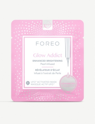 FOREO Glow Addict UFO-Activated Mask 6 x 6g