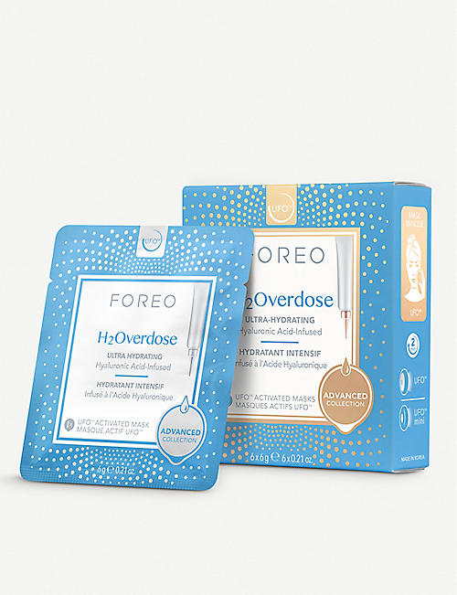 FOREO H2Overdose UFO-Activated Mask 6 x 6g