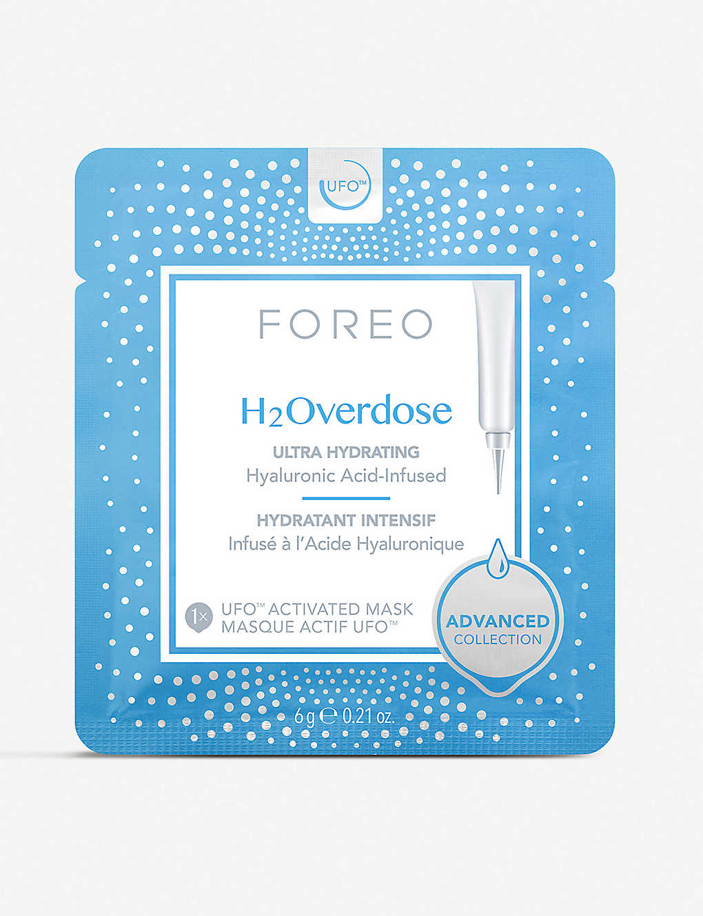 FOREO: H2Overdose UFO-Activated Mask 6 x 6g