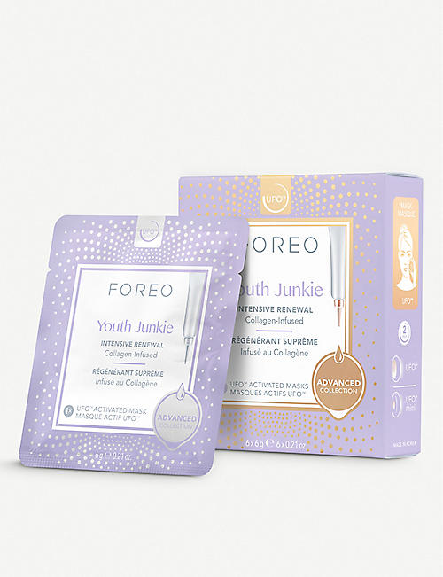 FOREO Youth Junkie UFO-Activated Mask 6 x 6g