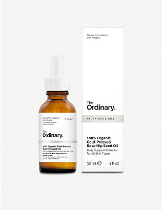 THE ORDINARY: 100% Organic Cold-Pressed Rose Hip Seed Oil 30ml