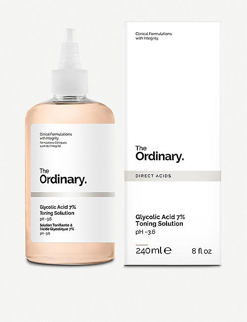 THE ORDINARY: Glycolic Acid 7% Toning Solution 240ml