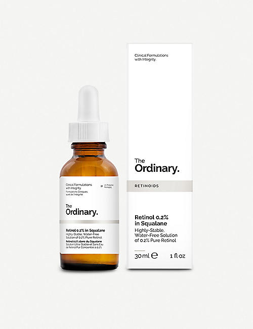 THE ORDINARY: Retinol 0.2% in Squalane 30ml