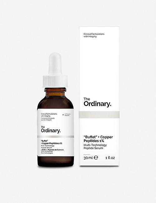 "THE ORDINARY: ""Buffet"" + Copper Peptides 1% 30ml"