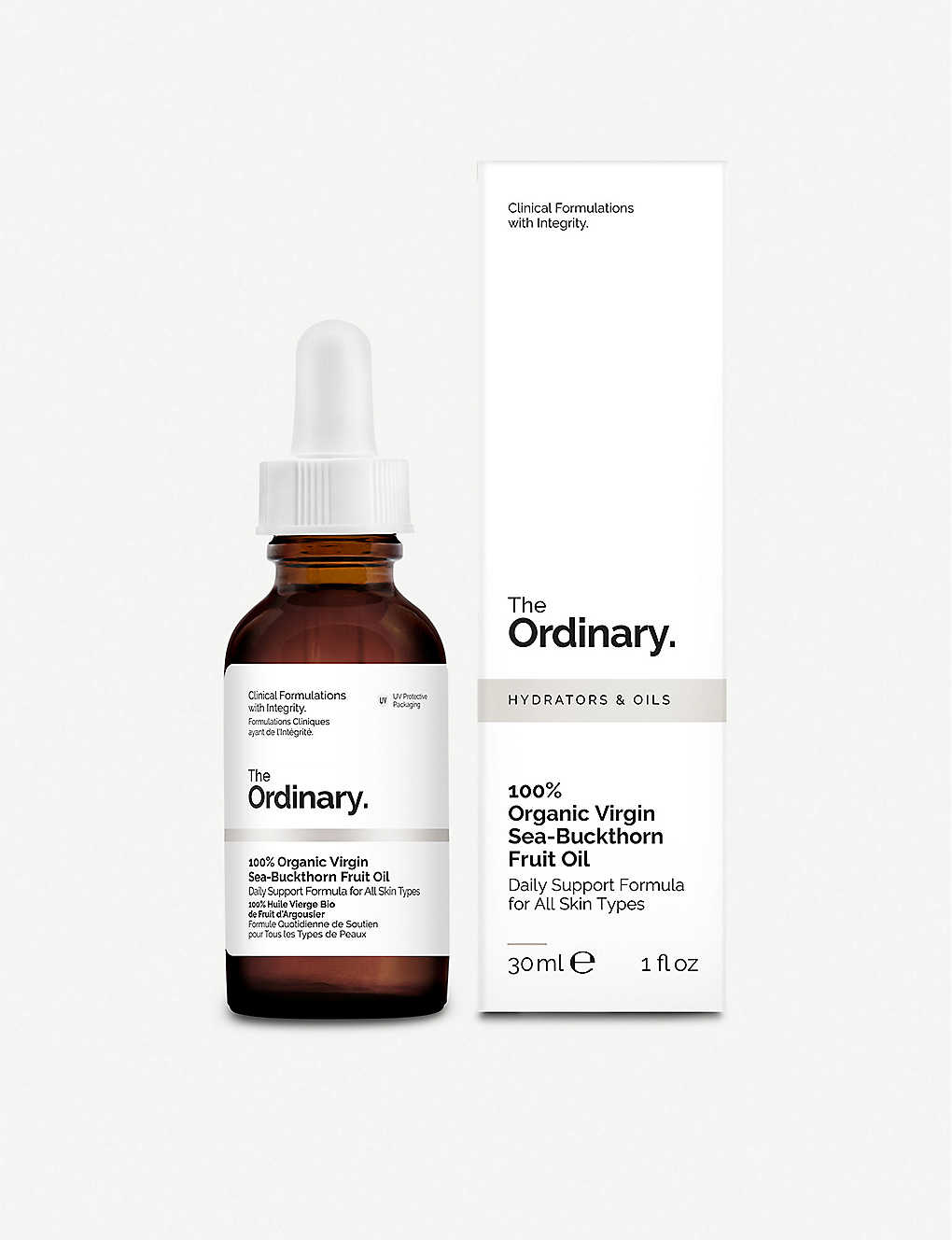 THE ORDINARY: 100% Organic Virgin Sea-Buckthorn Fruit Oil 30ml