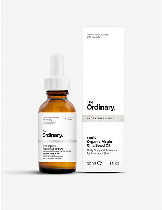 THE ORDINARY: 100% Organic Virgin Chia Seed Oil 30ml
