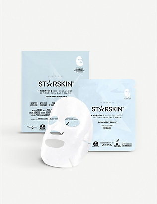 STARSKIN: Red Carpet Ready - Hydrating Coconut Bio-Cellulose Second Skin Face Mask