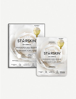 STARSKIN: Nourishing & Anti-wrinkle 2-step oil sheet mask