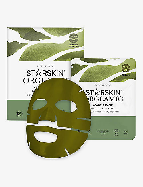 STARSKIN: Orglamic Sea Kelp face mask