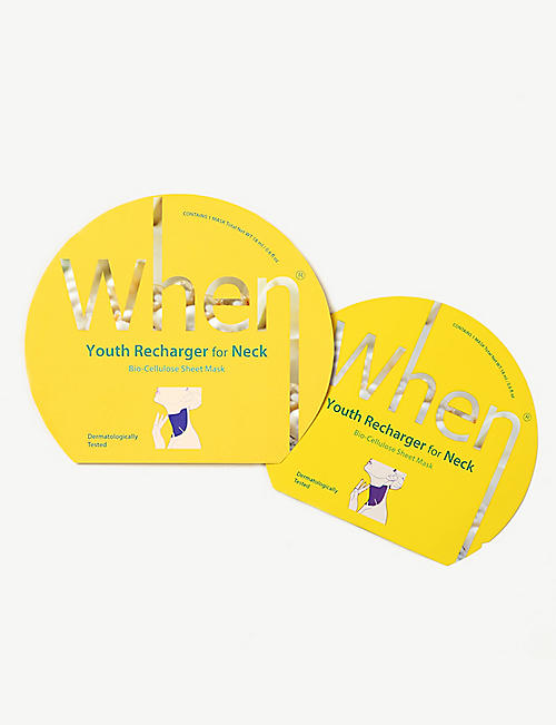 WHEN: Youth Recharger neck mask