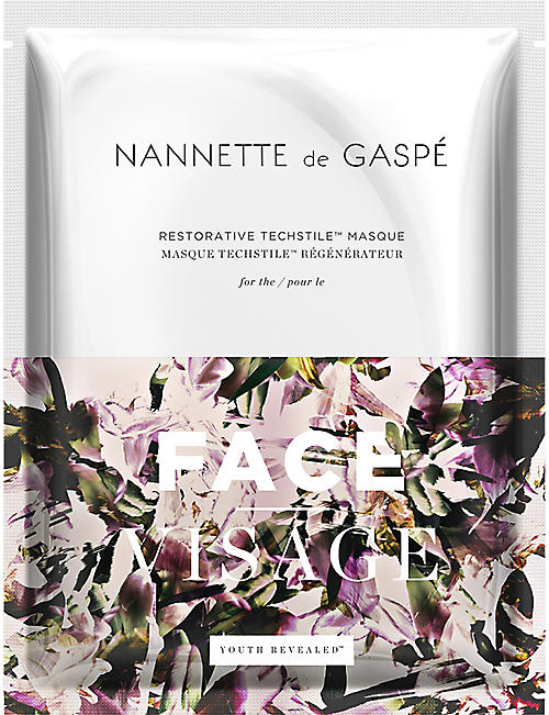 NANNETTE DE GASPE: Restorative Techstile Face Masque