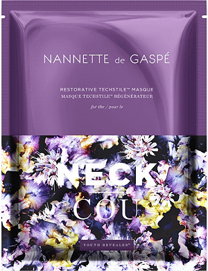 NANNETTE DE GASPE Restorative Techstile neck masque