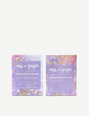 MISS DE GASPE Brighten & Beam Brightening & Revitalizing Dry Mask