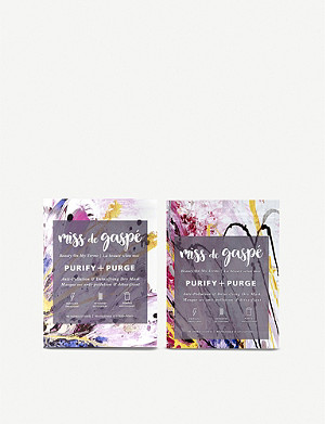 MISS DE GASPE Purify & Purge Anti-Pollution & Detoxifying Dry Mask
