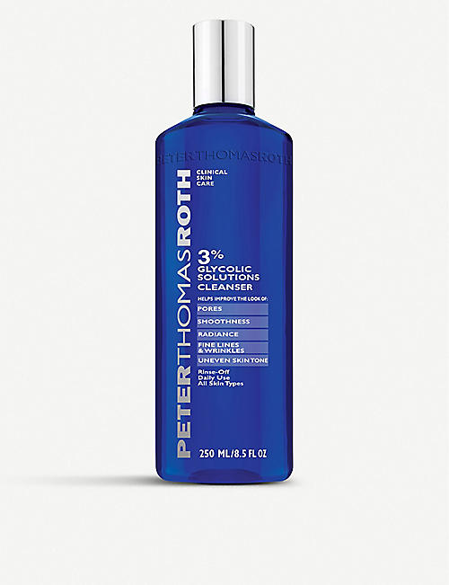PETER THOMAS ROTH: 3% Glycolic Solutions Cleanser 250ml