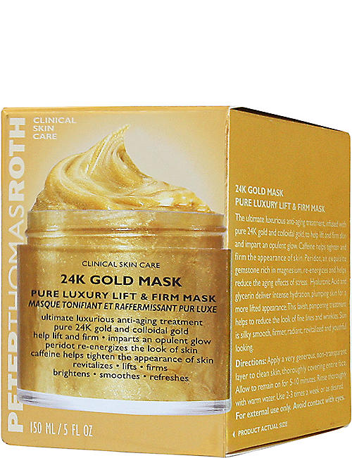 PETER THOMAS ROTH:24k 黄金抗衰老面膜 150 毫升