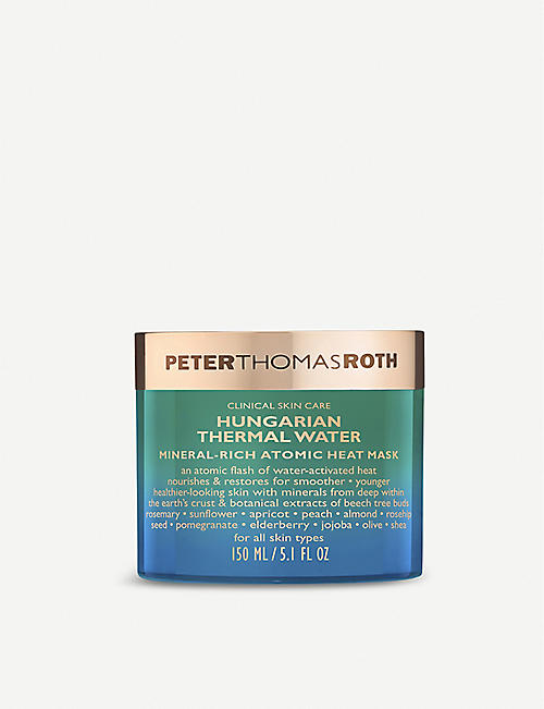 PETER THOMAS ROTH: Hungarian Thermal Water Mineral-Rich Atomic Heat Mask 150ml