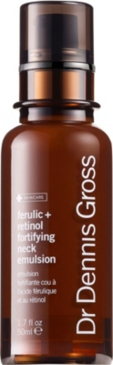 DR DENNIS GROSS SKINCARE Ferulic + Retinol Fortifying Neck Emulsion 50ml