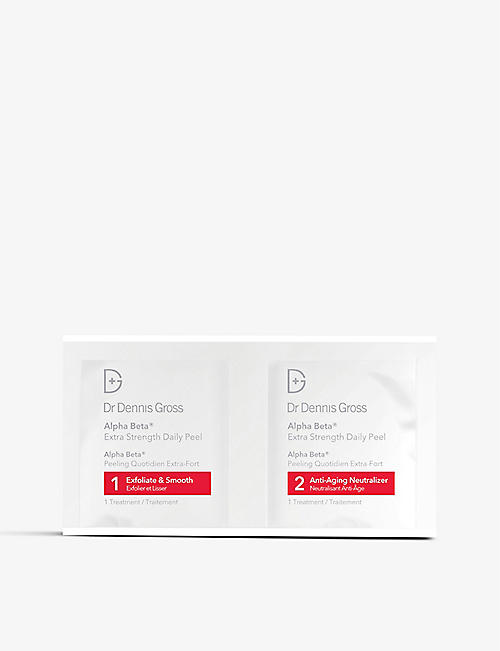 DR DENNIS GROSS SKINCARE Alpha Beta® Extra Strength Daily Peel 60 applications