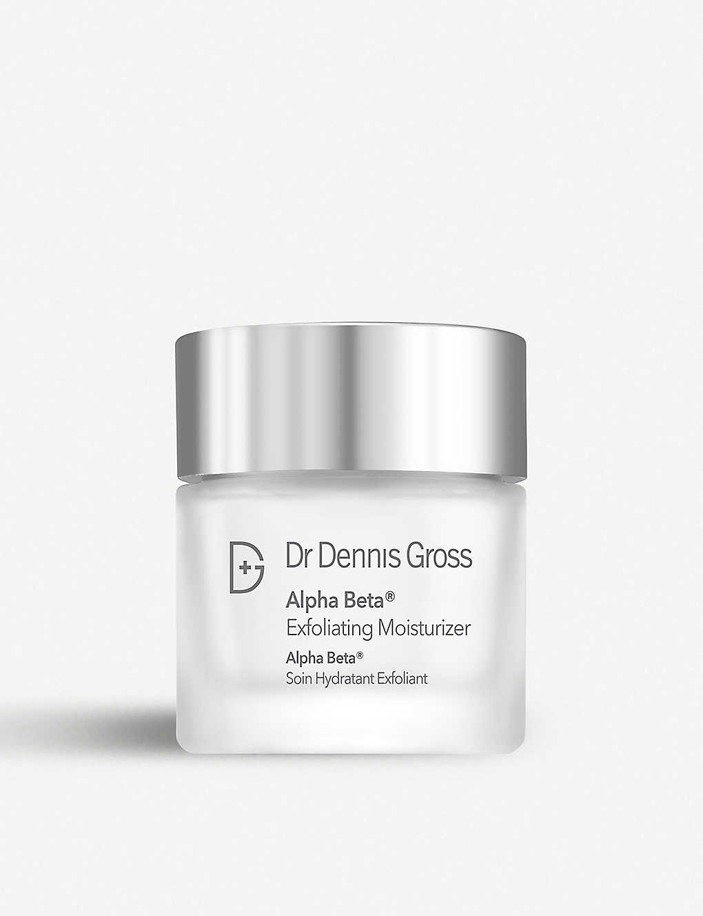 DR DENNIS GROSS SKINCARE: Alpha Beta Exfoliating Moisturiser 60ml